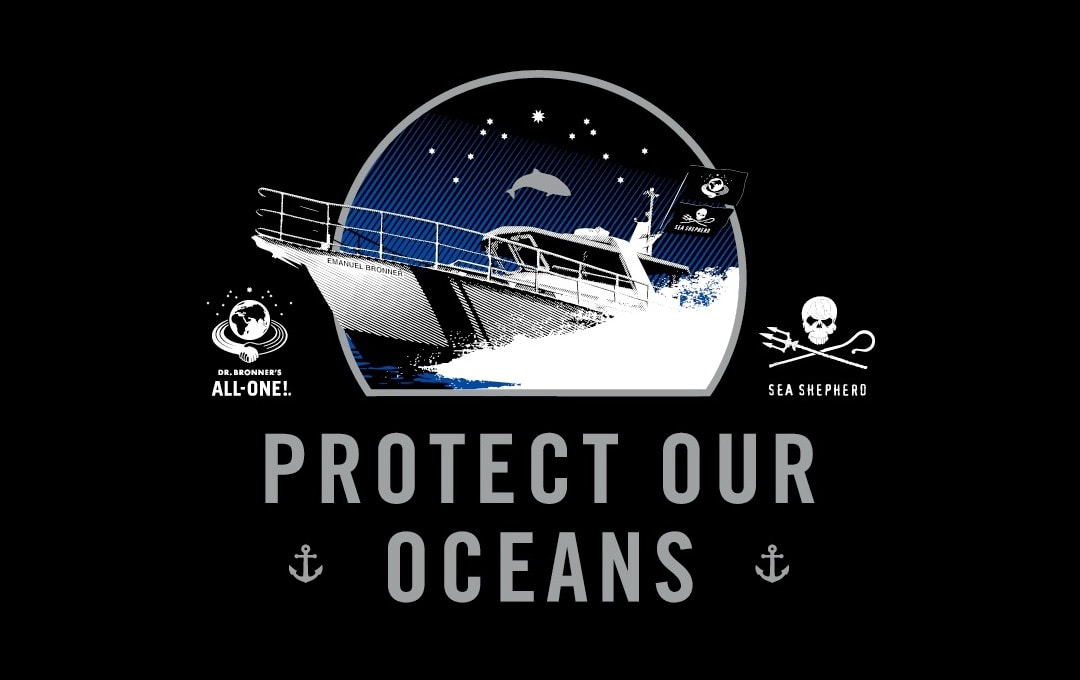 Sea Shepherd ship Protect our Oceans